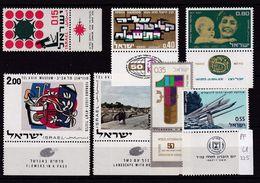Israel , Selection With Tab MNH - Israël
