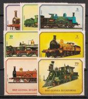 Guinée  équatoriale - 1978 - N°Mi. 1361 à 1367 - Trains - Neuf Luxe ** / MNH / Postfrisch - Guinée Equatoriale