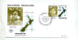 Lettre Fdc 1990 Nouvelle Zelande - FDC