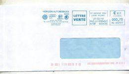 Lettre Flamme Ema Saint Nazaire Automobile Audi Skoda Volswagen - EMA (Printer Machine)