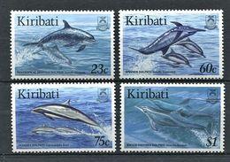 262 - KIRIBATI 1996 - Yvert 371/74 - Mammifere Marin - Neuf ** (MNH) Sans Trace De Charniere - Kiribati (1979-...)