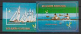 Guinée  équatoriale - 1978 - N°Mi. Bloc 287 à 288 - Moscou / Olympics - Neuf Luxe ** / MNH / Postfrisch - Guinée Equatoriale