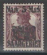 Sarre - YT 51 (*) MNG - 1921 - Unused Stamps