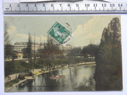 CPA (75) Paris - PARIS - BULLES CHAUMONT - Le Lac - Arrondissement: 19