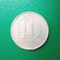 10 Pfennig Münze Aus Der DDR Von 1968 (schön Bis Sehr Schön) - [ 6] 1949-1990 : RDA - Rep. Dem. Alemana
