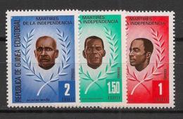 Guinée  équatoriale - 1979 - N°Mi. 1603 à 1605 - Indépendance - Neuf Luxe ** / MNH / Postfrisch - Guinée Equatoriale