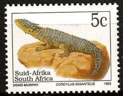 Afrique Du Sud 1993 - Cordyle Géant (Cordylus Giganteus) - Non Classés