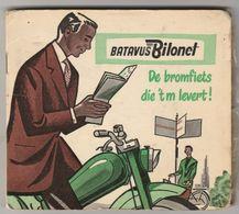 Moped-bromfiets Batavus Bilonet Heereveen (NL) 1956 J.L.O.-bosch-beckson-union-vredestein-norgus - Transporto