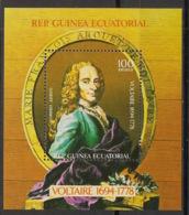 Guinée  équatoriale - 1979 - N°Mi. Bloc B314 - Voltaire - Neuf Luxe ** / MNH / Postfrisch - Guinée Equatoriale
