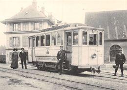 BVA -  Transports Publics Lausannois (TL T.L.) Chemin De Fer Du Jorat - Le Chalet-à-Gobet La Ce 2/2 57 - VD Vaud