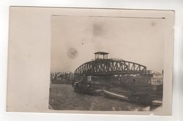 +1242, FOTO-AK, WK I, Drehbrücke Bei Boom, Belgien - Weltkrieg 1914-18