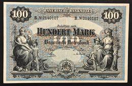 Germania Germany Baviera 100 MARK 1900 LOTTO 2451 - [11] Emisiones Locales
