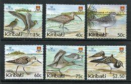 262 - KIRIBATI 2004 - Yvert 535/40 - Oiseau - Neuf ** (MNH) Sans Trace De Charniere - Kiribati (1979-...)