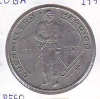 MONEDA DE CUBA DE 1 PESO DEL AÑO 1997 DEL CHE GUERRILLERO HEROICO - Cuba