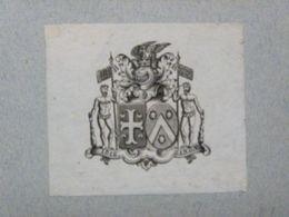 Ex-libris Héraldique XVIIIème - BELGIQUE - DE GHEUS - Ex Libris
