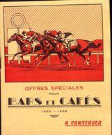Marseille, Ets Escoffier, Bars Et Cafes, Livret De 12 Pages, Tarif, Prix              (bon Etat) Dim : 13 X 10.5. - Sonstige