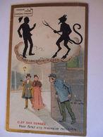 Sammelbild Chocolats Schaal, Strassburg, Teufel Und Räuber  - Trade Cards