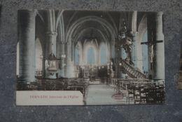 Ternat  Cpa Pk Binnenkant Kerk - Ternat