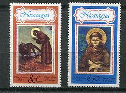 Nicaragua ** PA 905/906 - St  François D'Assise - Nicaragua