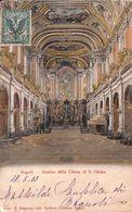 Napoli - Interno Della Chiesa Di S. Chiara (E. Ragozino Edit. 1903) - Napoli