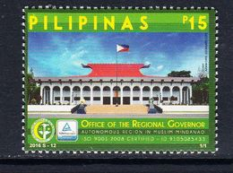 2016 Philippines Mindanao Muslim Region Complete Set Of 1 MNH - Filipinas