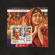 REPUBLIQUE DE GUINÉE. NOBEL.  MARIO CAPECCHI. MALALA YOUSAFZAI. MNH. E0705B - Nobel Prize Laureates