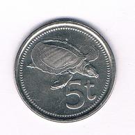 5 TOEA 2005  PAPOEA GUINEA //5044/ - Papouasie-Nouvelle-Guinée