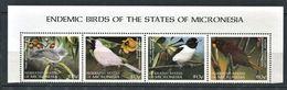 262 - MICRONESIE 1998 - Yvert 535/38 - Oiseau - Neuf ** (MNH) Sans Trace De Charniere - Micronésie