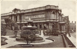 WEST MIDLANDS - WOLVERHAMPTON - ART GALLERY AND GARDENS Wm189 - Wolverhampton