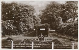 WEST MIDLANDS - WOLVERHAMPTON - WEST PARK - FLORAL BED RP  Wm137 - Wolverhampton
