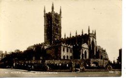WEST MIDLANDS - WOLVERHAMPTON - ST PETER'S CHURCH RP  Wm69 - Wolverhampton