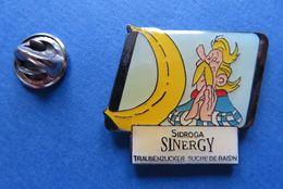 Pin's,ASTERIX&OBELIX,SINERGY SIDROGA,SUISSE - Cómics