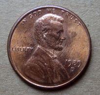 1989 D - STATI UNITI  USA One Cent - Lincoln  - Circolata - Federal Issues
