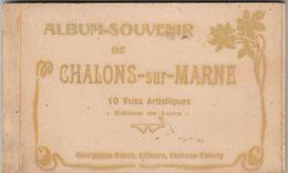 Chalons-sur-Marne Lot De 2 Carnets De 10 Cartes Chacun - Châlons-sur-Marne