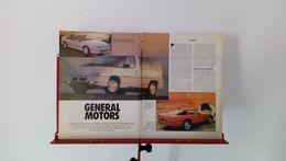 Coupure De Presse De 1989 General Motors,l'histoire - Voitures