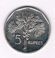 5 RUPEES   2007 SEYCHELLEN /5056/ - Seychelles
