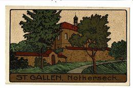 CPA-Carte Postale-Suisse St Gallen-Notkerseck-1913-VM18221 - SG St. Gall