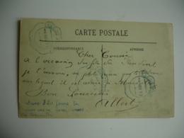 1913  Carte Franchise  Telegraphie Militaire  Couleur Bleue Sur Carte Bateau - Postmark Collection (Covers)