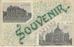 Souvenir D'ANVERS - Cachet De La Poste 1919 - Antwerpen