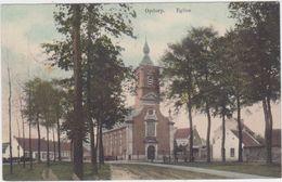Buggenhout - Deelgemeente Opdorp - De Kerk ((V. Hemelrijck)  (gekleurde En Gelopen Kaart Zonder Zegel) - Buggenhout