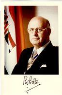 Botha, Pieter Willem 1916-2006 Staatspräsident Südafrika - Autographs