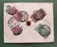 Enveloppe De Karachi Pour La France - India (...-1947)