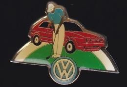65653- Pin's-Automobile.Volkswagen.Golf. - Volkswagen