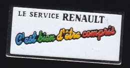 65660- Pin's--Renault. - Renault