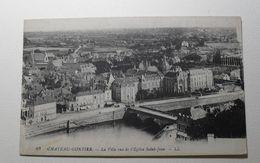 France - Chateau-Gontier - 67 - La Ville Vue De L'Eglise Saint-Jean - L.L. - Chateau Gontier