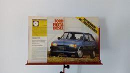 Coupure De Presse De 1989 Ford Fiesta Diesel - Voitures