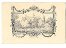 LE BREUIL (71) Carte Gravée Chateau De Montvaltin - France