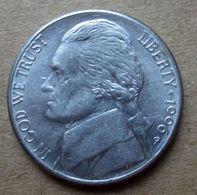 1996 P - STATI UNITI  USA Five Cent   Jefferson - Circolata - Federal Issues