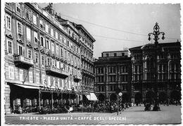 Trieste - Piazza Unità - Caffè Degli Specchi. - Trieste (Triest)