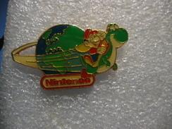 Pin's Mario Fait Le Tour Du Monde Sur Console NINTENDO - Jeux